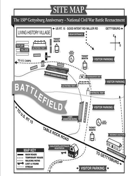 Spectator-Site-Map