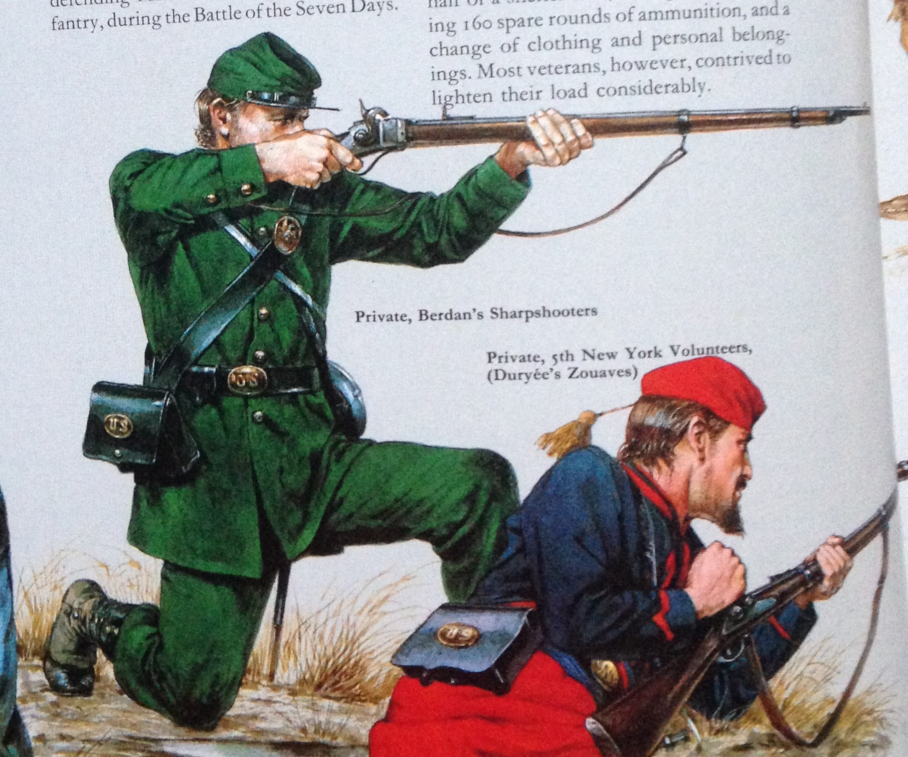 Civil War Zouave Rifle